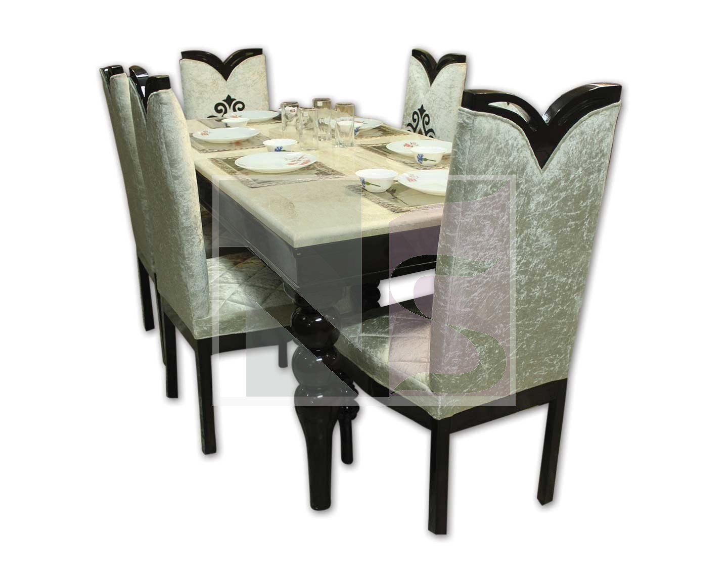 Marble Top Dining Set
