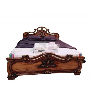 Apsara Wood Box Bed